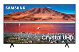 Samsung 43-inch Class Crystal UHD TU-7000 Series - 4K UHD HDR Smart TV with Alexa Built-in (UN43TU7000FXZA, 2020 Model)