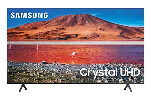 Samsung 70-inch TU-7000 Series Class Smart TV | Crystal UHD - 4K HDR - with Alexa Built-in | UN70TU7000FXZA, 2020 Model