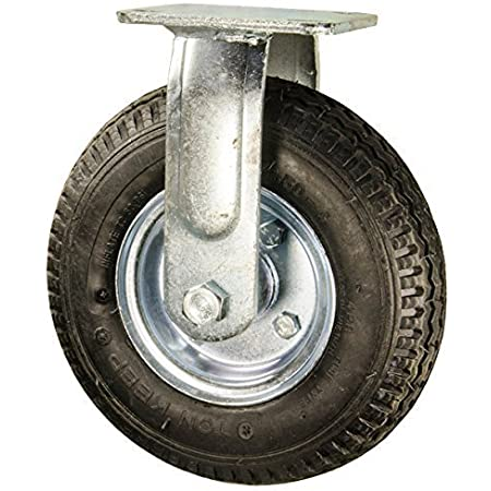 Steelex D2647 6-1//4-Inch Single Wheel with Double Bearing