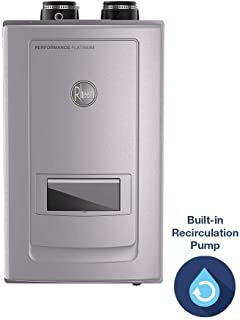 Rheem ECOH200DVRHLN Performance Platinum 11 GPM Natural Gas High Eff Indoor Tankless Water Heater with Recirculation and Leak Protection
