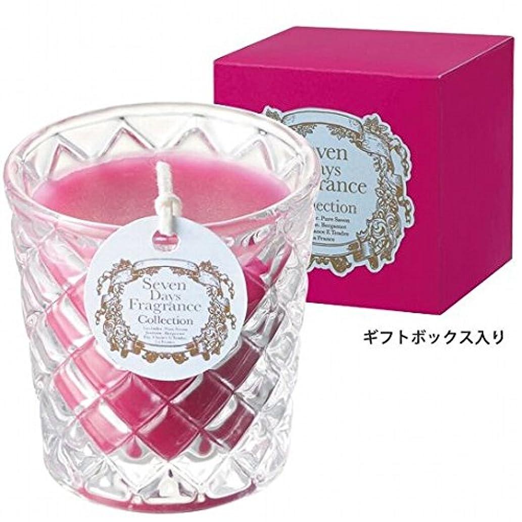 軽食涙おもしろいカメヤマキャンドル( kameyama candle ) セブンデイズグラスキャンドル(木曜日) 「 フィグ 」