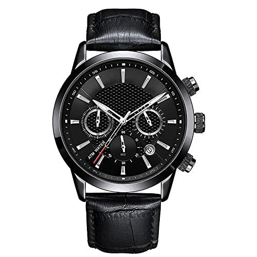 Orologio da uomo 42mm in acciaio inox semplice tendenza metallo moda cintura orologi per gli uomini (Colore: T-5)