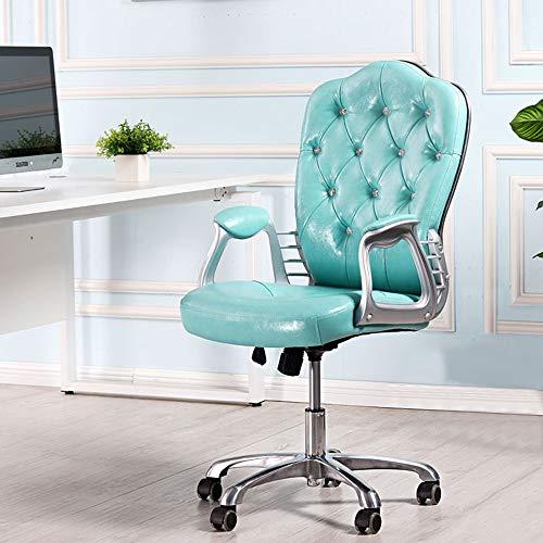 JXYu - Silla de Oficina ergonómica Ajustable, Silla giratoria de Estudio en casa, Silla de computad