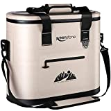 Soft Cooler Bag Insulated Soft Sided Cooler Portable Leakproof...