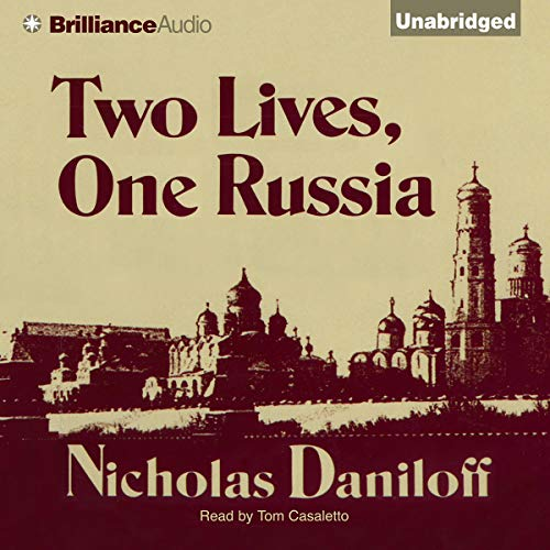 Two Lives, One Russia audiobook cover art