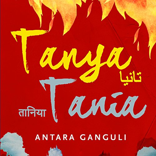 Tanya Tania audiobook cover art