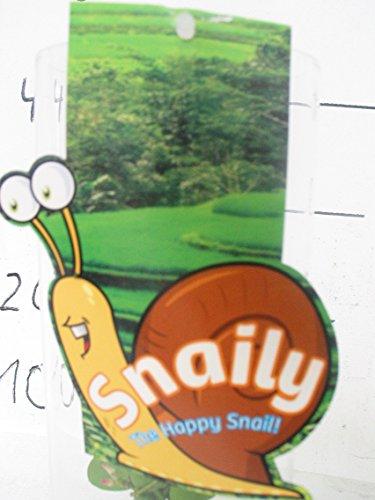 The Happy Snail! Schneckenhaus im Glas+Pflanze