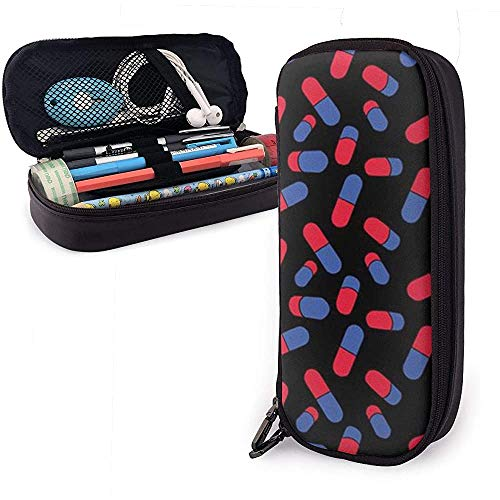 Pencil Case Capsule Big Capacity Pen Bag Large Storage