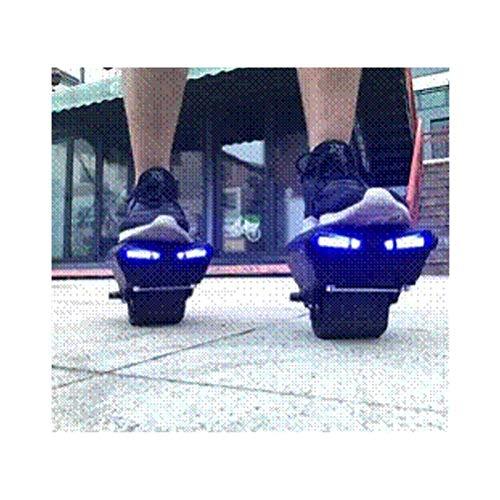 Hikerboy Hover Shoes Mars Walker - Self Balance Hoverboard/Waveboard mit Bluetooth App, Einzeln oder Verbindbar, Schwarz