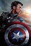 Superhéroe Capitán América adulto Rompecabezas de madera 300/500/1000 pieza del rompecabezas de rompecabezas for adultos Tecnología Medios piezas encajan perfectamente Descompresión anime de dibujos a