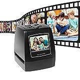 JFF Escáner De Película, Pantalla LCD De 2,36 Pulgadas Escáner, Compatible con Película Positiva En Color De 35 Mm / 135 Mm, Película Negativa, Diapositivas En Color Y En Blanco Y Negro