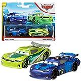 Disney Selección Doble Pack Cars   Modelos Vehículos 2020   Cast 1:55   Mattel, Cars Doppelpacks:Spikey Fillups & Chase Racelott