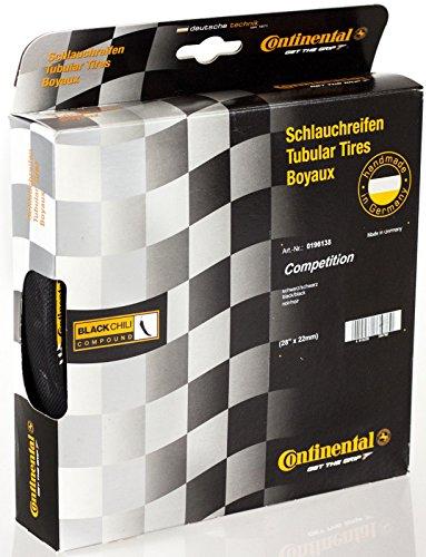 Continental Schlauchreifen - Rennrad Competition, schwarz skin, 28