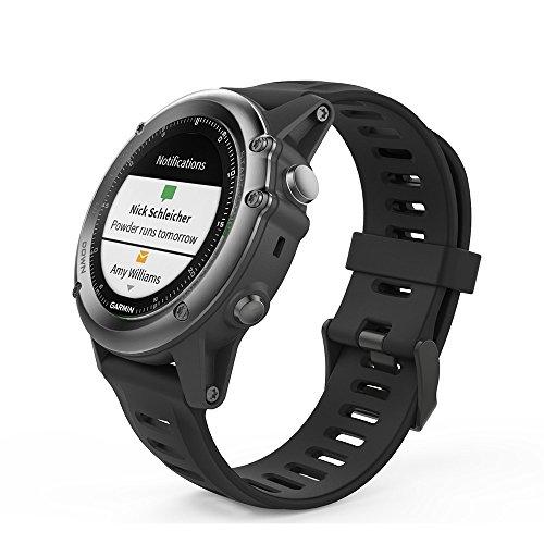 Digit.Tail 26mm Replacement Adjustable Silicone Band Sport Accessories Bracelet Strap with Pins and Torx Screws for Garmin Fenix 3/Fenix 3 HR, Fenix 5X Smartwatch (Black)