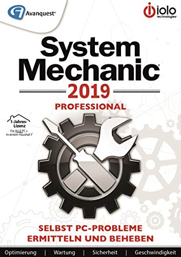 System Mechanic 2019 Pro | Professional | 1 Jahr | PC | PC Aktivierungscode per Email