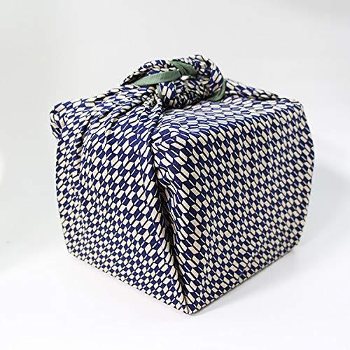 風呂敷 重箱 矢絣 紺 いせ辰 90cm 綿100% 日本製 ふろしき 国産 江戸千代紙 大判 バック 和柄