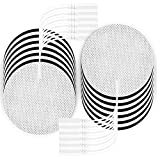 LYINIE TENS Unit Pads 3' Round Electrodes - Compatible with Most TENS Machines, Replacement Pads Electrode Patches for Electrotherapy, 20 Count