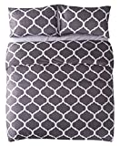 Luxurious Super Soft <span class='highlight'>Duvet</span> Cover (Double, Moroccan Trellis Geometric) Ultra Soft Printed Quilt Cover Set 1 <span class='highlight'>Duvet</span> Cover & 2 Pillow Cases Luxurious Brushed Microfiber <span class='highlight'>Comforter</span> Cover Set Bedding Set