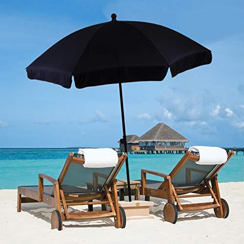 Marko Outdoor 1.9M Beach Umbrella Garden Outdoor Patio Parasol Sunshade...