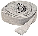 LifeSupplyUSA 35 ft Central Vacuum Knitted Hose Cover 35ft with Application Tube