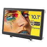 Elecrow - Monitor portatile da 10,1 pollici, risoluzione 1920 x 1080 p, HDMI, VGA monitor IPS, compatibile con Raspberry Pi 4 / 3B + / 3B, console di gioco, Windows 7/8/10