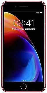 أبل آيفون 8 بلس مع فيس تايم - 256 جيجا، الجيل الرابع LTE، أحمر، 3 جيجا رام، شريحة واحدة