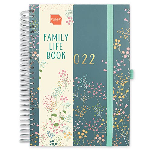 Boxclever Press Family Life Book 2022 Diary. A5 Diary 2022 Week to View...
