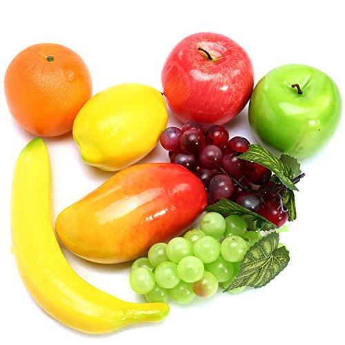 Künstliche Deko Obst Lebensmittel Set 8Für Home Kitchen Dekoration