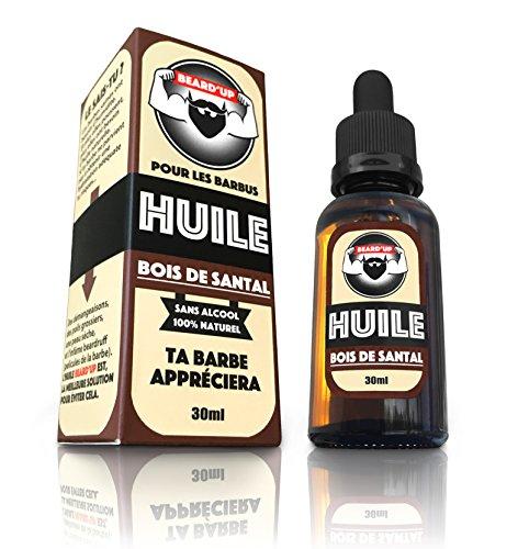 HUILE À BARBE / BEARD OIL  BEARD'UP   Produit 100% Naturel  Nourrit, Hydrate, Adoucit, Stimule la Pousse et Fait...