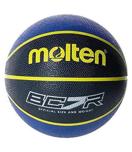 MOLTEN Balon Baloncesto BC7R2-KB Azul Negro Talla 7
