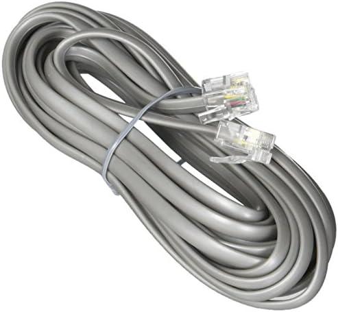Premium Telephone Line Cord Heavy Duty S