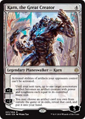Magic: the Gathering - Karn, The Great Creator - Karn, il Grande Creatore - War of The Spark