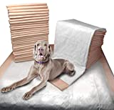 Mednet Direct Ultra Absorbent Pet Training & Puppy Pads for Dogs & Pets, Large (30' x 36') - 100Count, Peach