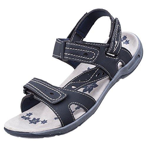 Cotswold Femme Highworth Sandales Randonnée Fermeture Velcro Bleu 38