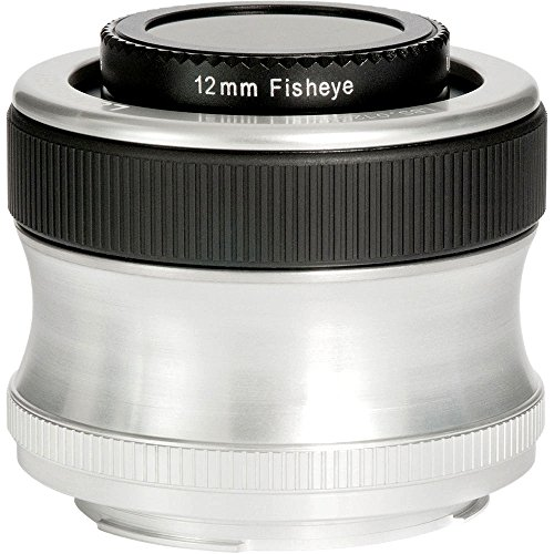Lensbaby LB002825 - Scout fisheye para Olympus 4/3