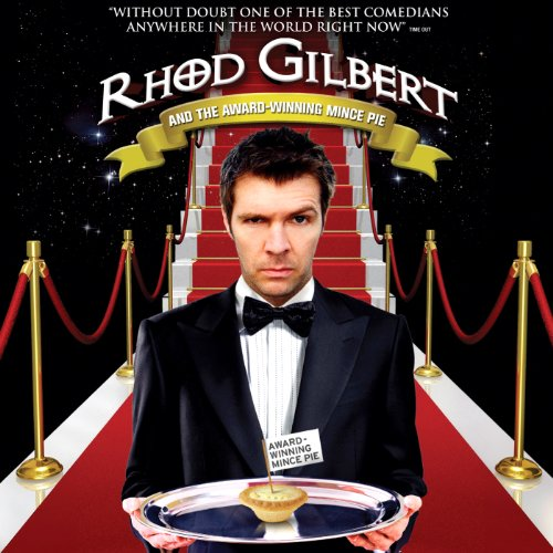 Rhod Gilbert and The Award Winning Mince Pie audiobook cover art