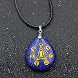 Collares con Colgantes De Piedra para Mujer,Mujeres 7 Chakra Collar De Piedras Naturales...
