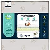 Serta Perfect Start Supreme Fiber Core/Memory Foam Crib and Toddler Mattress | Waterproof | GREENGUARD Gold Certified | Trusted 35 Year Warranty | Made in The USA