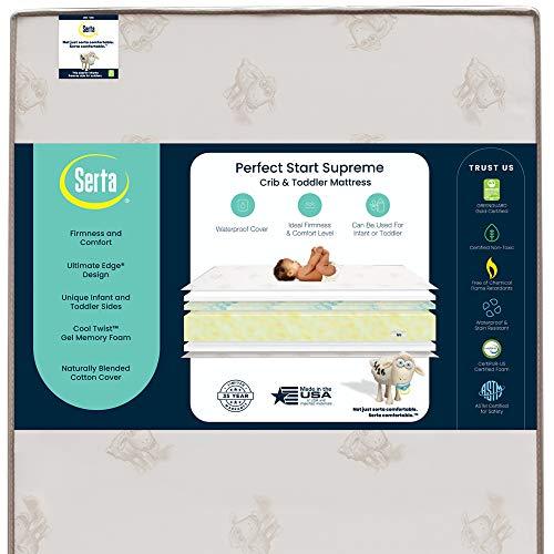Serta Perfect Start Supreme Crib and Toddler Mattress