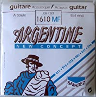 SAVAREZ 1610MF Argentine Ballend Light ジャズギター弦×6SET