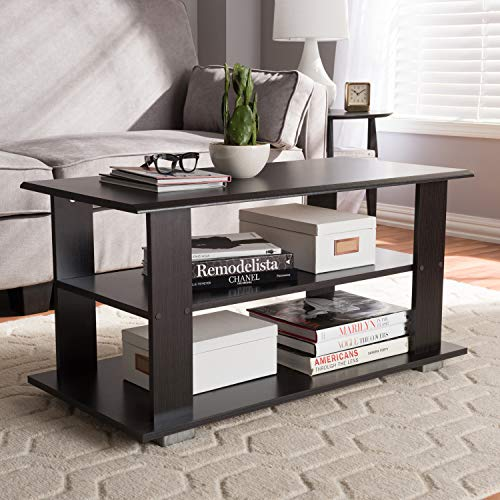Baxton Studio Joliette Modern and Contemporary Wenge Brown Coffee Table