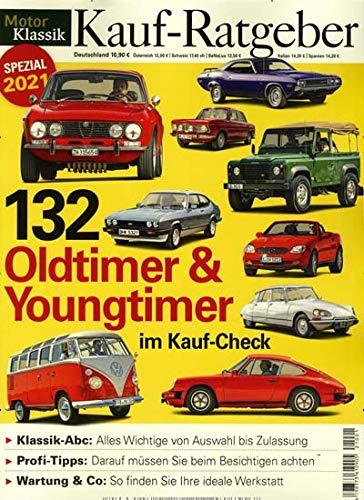 """Motor Klassik Sonderheft 1/2021 \""""132 Oldtimer & Youngtimer\"""""""
