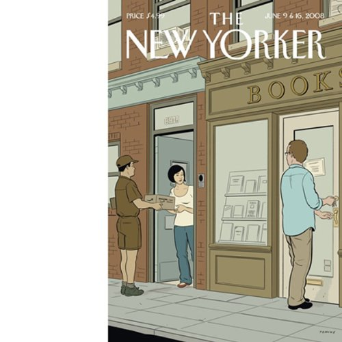 The New Yorker, June 9 & 16, 2008 audiobook cover art