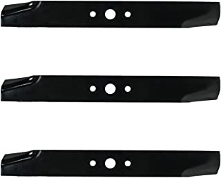 3PK High Lift Lawn Mower Blades for 44