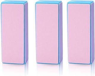 Nail care Nail file Nail polish 3 pieces set Four-sided block buffer nail shine