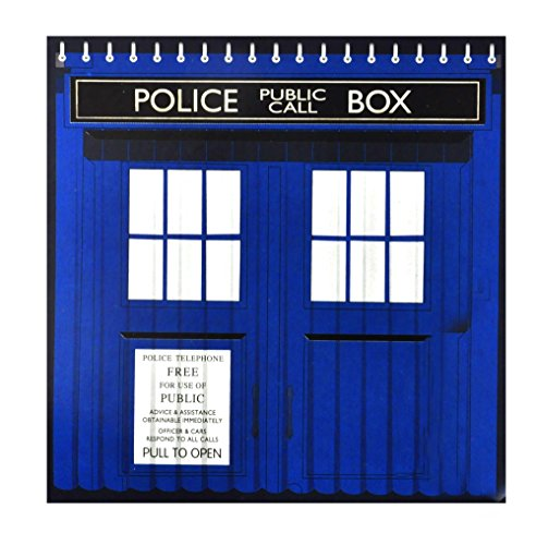 Doctor Who Tardis Shower Curtain with Window