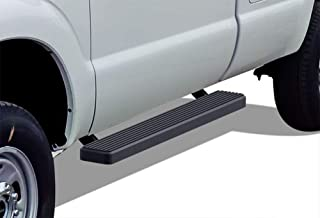 APS iBoard Running Boards 5 inches Black Custom Fit 1999-2016 Ford F250 F350 Super Duty Regular Cab (Nerf Bars Side Steps Side Bars)