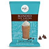 Angel Specialty Products - Blended Ice Coffee - Frappe Powder Mix - Java Chip [3 LB] [34 Servings]