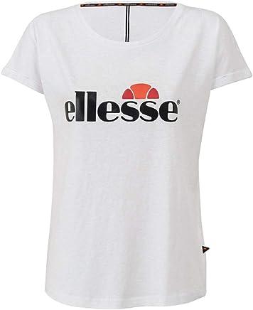 452cf13be47f13 ellesse Flora TMC T-Shirt MC Femme Blanc