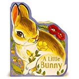 A Little Bunny - Children's Animal Shaped Board Book, Gift for Easter Baskets, Baby Showers, Birthdays, and More, Ages 1-5